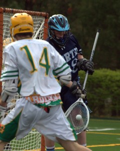 Bishop Guertin boys lacrosse scores early, holds off Nashua North