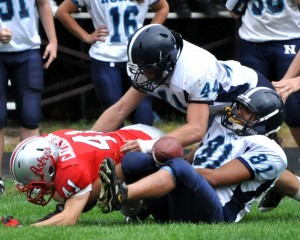 Nashua North's Wagner gives Titans stability on football field
