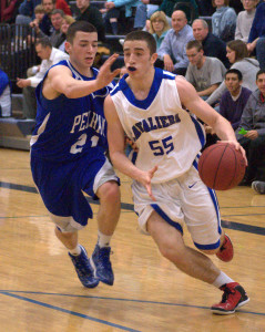 Hollis Brookline boys basketball shuts down Pelham