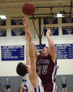 Hollis Brookline boys basketball holds off Goffstown