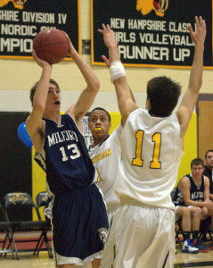 Wins put Milford boys basketball back in D2 playoff hunt