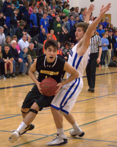 Hollis Brookline boys basketball picks up second win over Souhegan