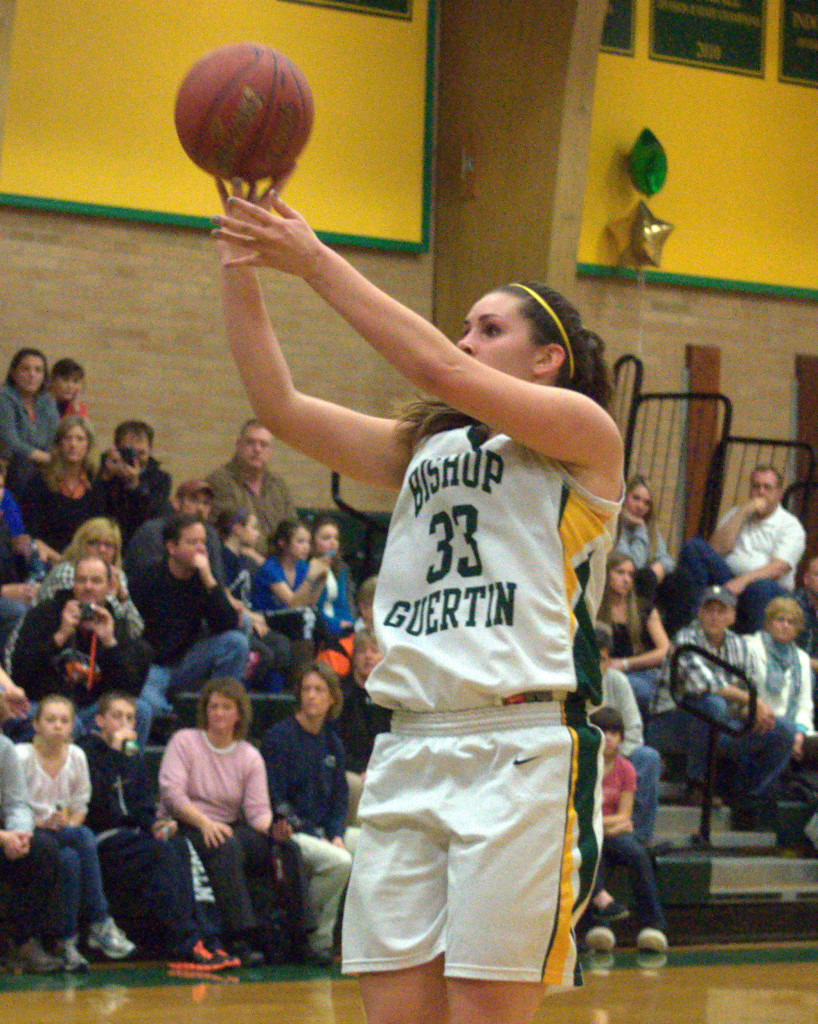 Bishop Guertin's Meghan Green is the Queen of New Hampshire High School Basketball for the second straight year.