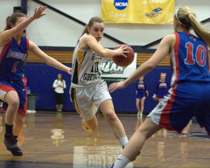 Bishop Guertin holds off Londonderry in D1 girls basketball semifinals