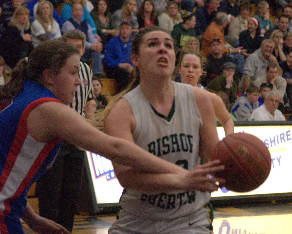 Bishop Guertin's Meghan Green was named Miss New Hampshire Basketball and the Division I Player of the Year.