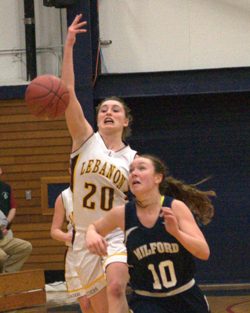 Lebanon's Moriah Morton is one of six finalists for the Queen of New Hampshire High School Basketball.