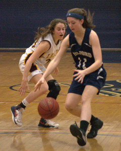 Lebanon ends Milford's dream season in D2 girls basketball semifinals