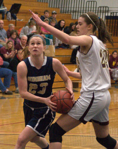 Portsmouth hangs on to beat Windham in D2 girls basketball semifinals