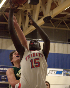 King of New Hampshire High School Basketball: Trinity's Mabor Gabriel