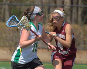 Westford girls lacrosse comes back in second half to beat Bishop Guertin