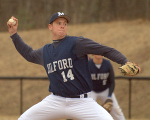 Danforth's quick work a plus for Milford baseball