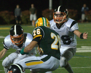 Bishop Guertin football hangs on for win over Keene
