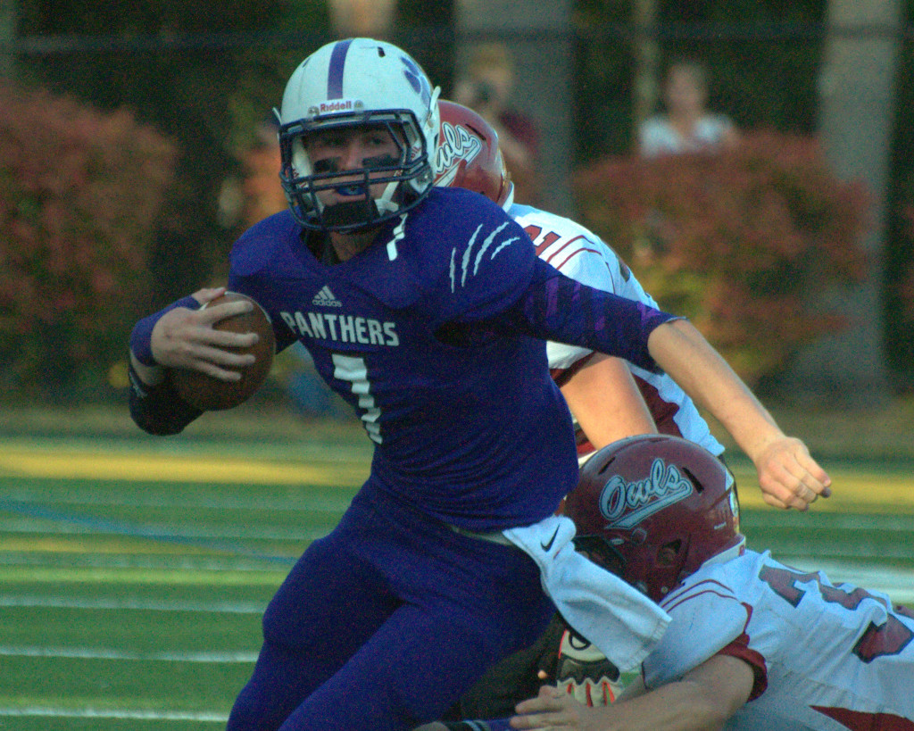 Nashua South's Trevor Knight was one of 12 New Hampshire athletes to receive Gatorade Player of the Year honors for 2013-14.