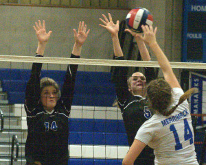 Girls Volleyball Notebook: Hollis Brookline hoping for change of fortune