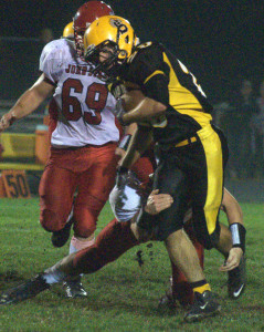Souhegan football blows out John Stark for first win