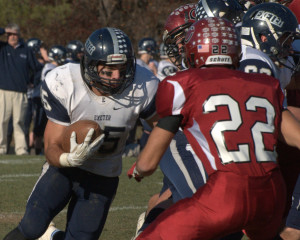 Concord football makes most of opportunities to beat Exeter in D1 semifinals