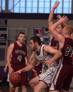 Goffstown picks up win over Milford in Chick-fil-A Holiday Basketball Tournament