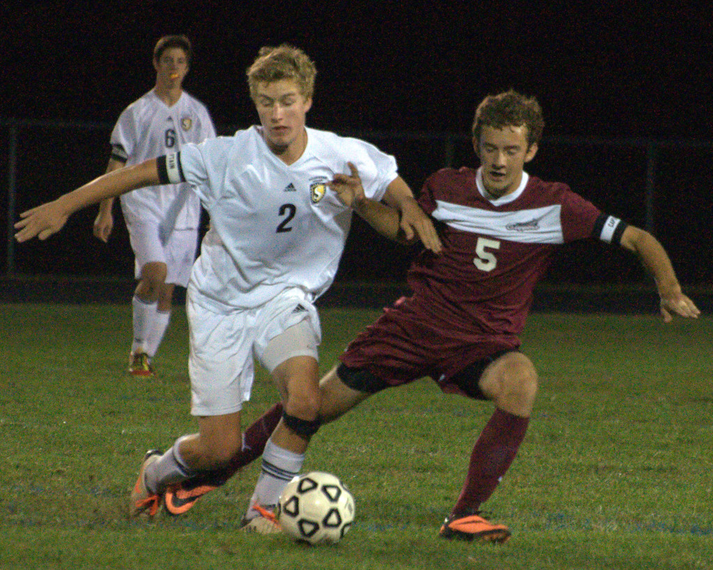 Souhegan's Matt Hopfenspirger was one of several players to earn soccer honors.