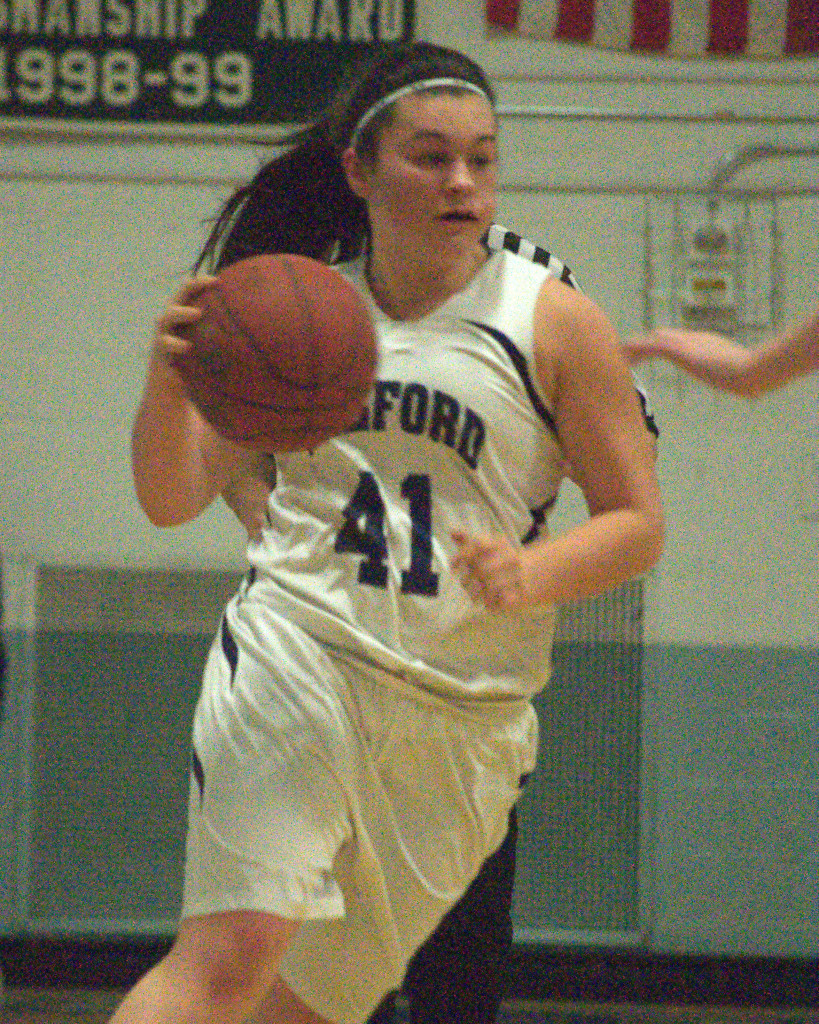 Jennifer Dupuis and Milford would lock up the No. 1 seed in Division II with a win Friday night.