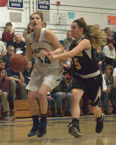 Milford girls basketball holds off Souhegan for 10th straight win