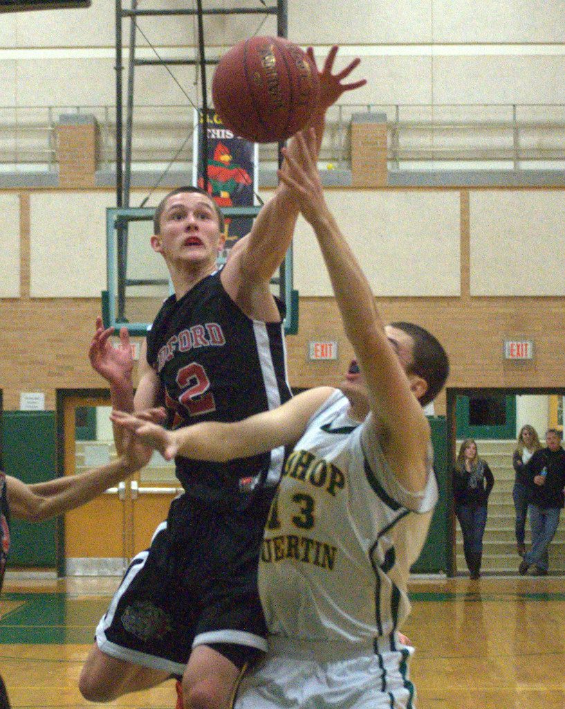 Bedford and Bishop Guertin enter the playoffs going in different directions.