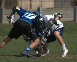 Offensive flurry lifts Hollis Brookline boys lacrosse past Milford