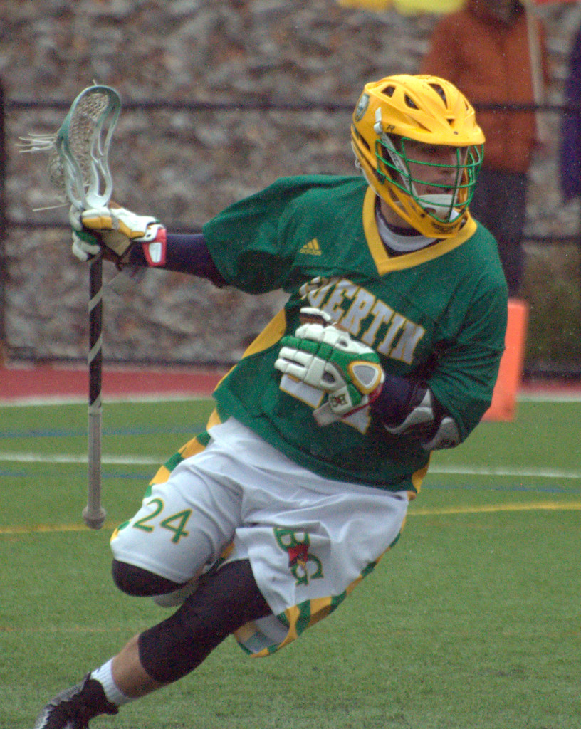Bishop Guertin's Connor Donahue was one of nine players from New Hampshire to receive All-American honors.
