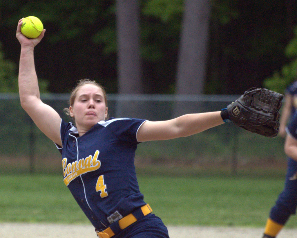ConVal's Courtney Fisher was named the Division II Pitcher of the Year.