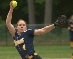 Results from the opening rounds of the softball playoffs