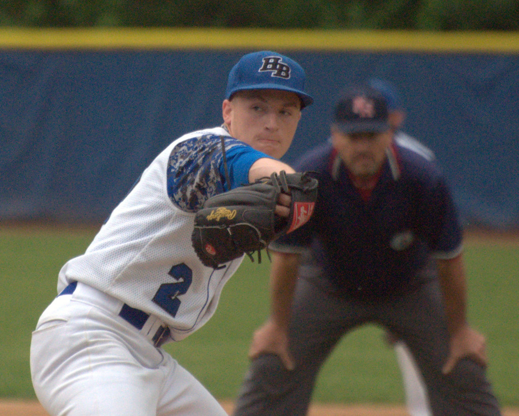 Hollis Brookline's Cam LaFleur was named the D2 Player of the Year.