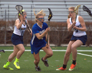 Results from the start of the girls lacrosse playoffs