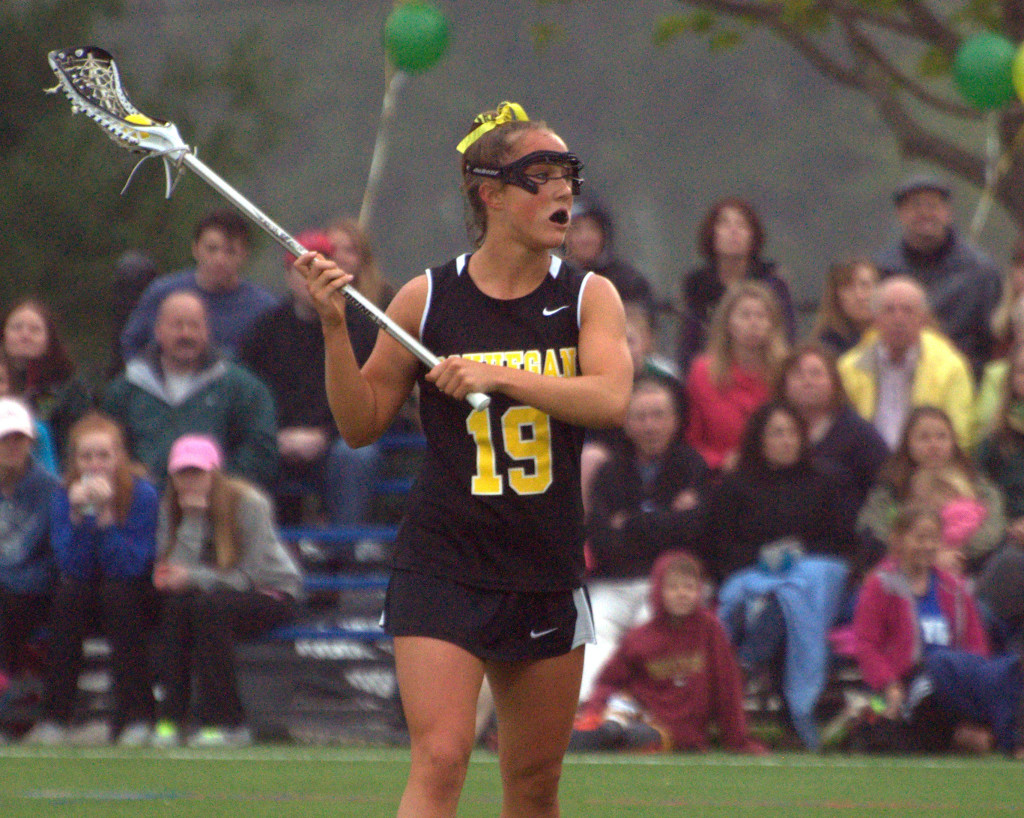 Souhegan's Madison Learned was one of four to receive All-American first team status.