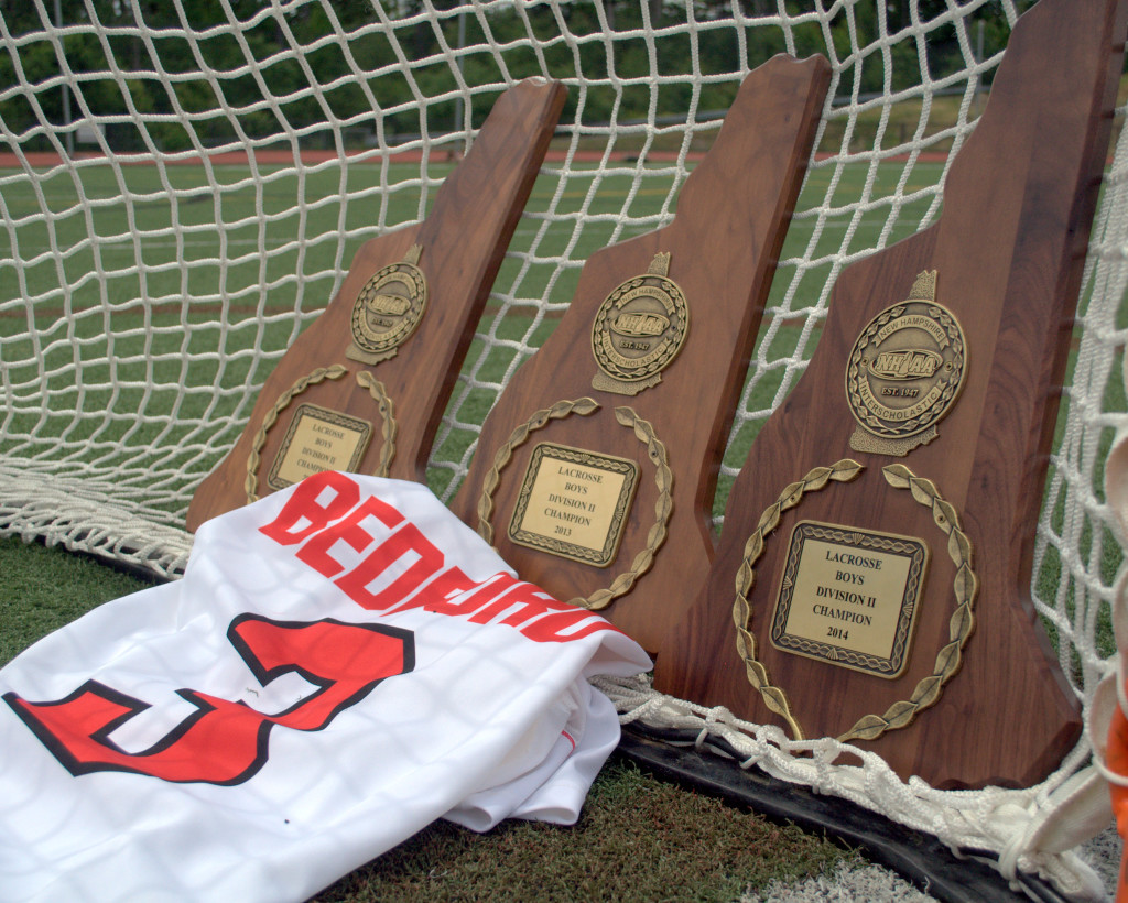 For the last three years, the Division II boys lacrosse championship has belonged to Bedford.