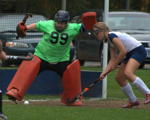 Milford field hockey surges past Goffstown to advance in D2 playoffs