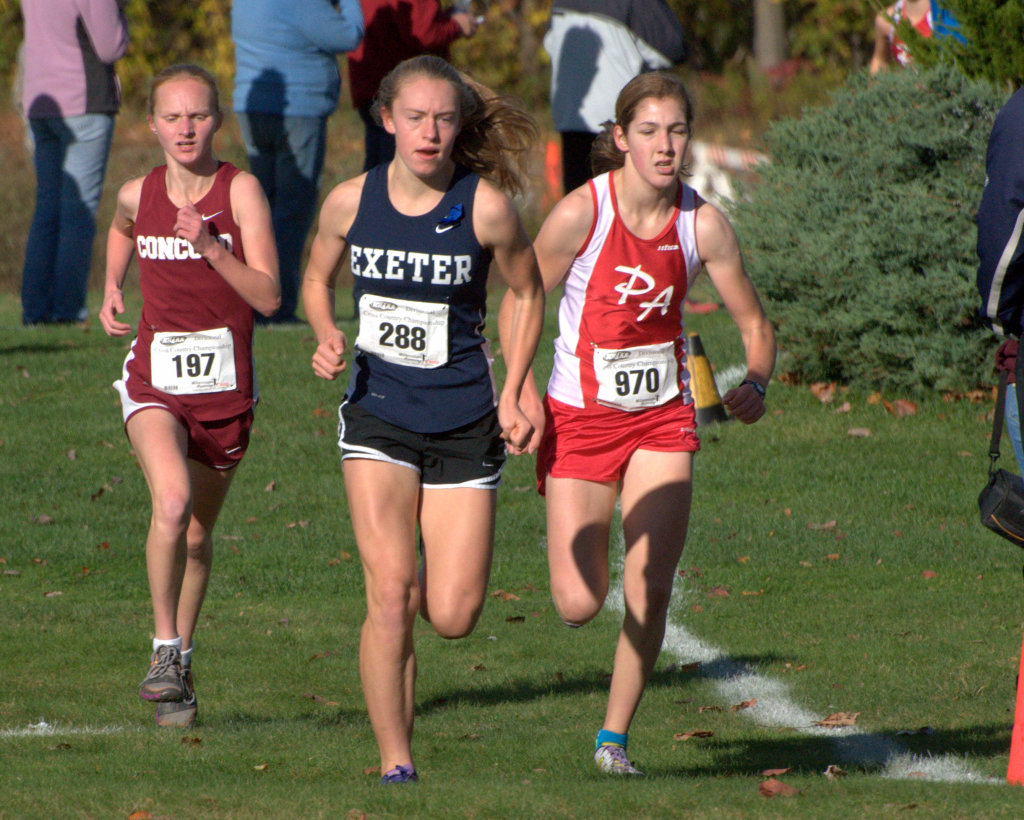 Girls cross country all-state teams.