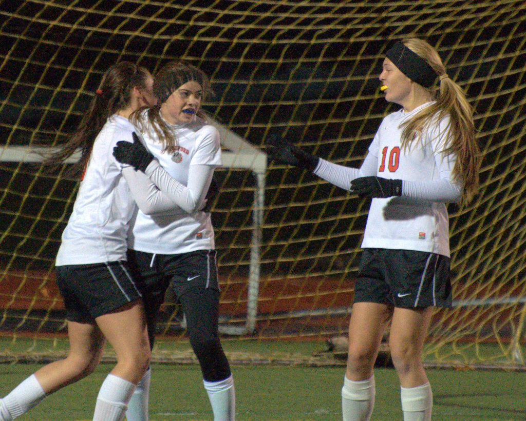 Bedford girls soccer is heading back to the Division I semifinals.