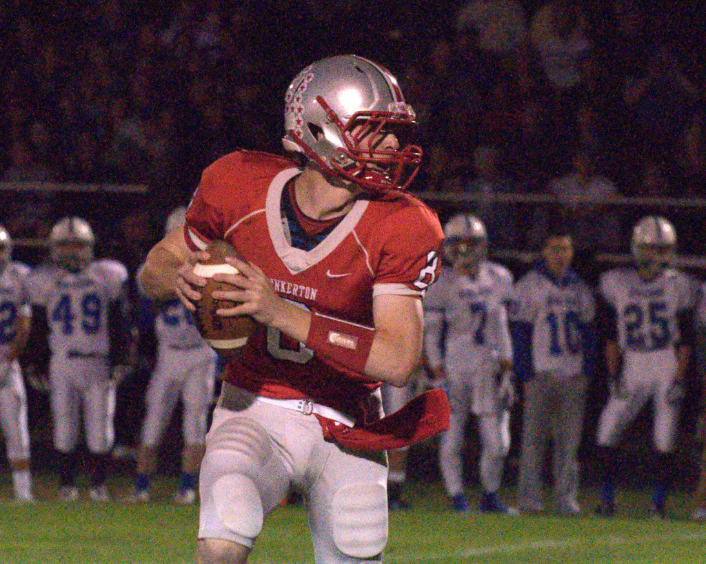 Jack Hanaway and Pinkerton defeated Londonderry to win the Division I South Conference and move on to the semifinals.