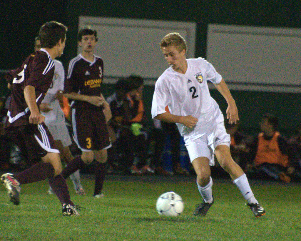 Souhegan's Matt Hopfenspirger was named to the Division II boys soccer first team.