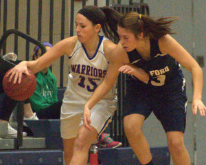Milford girls basketball hangs on to beat Winnacunnet, win Nashua North Holiday Classic