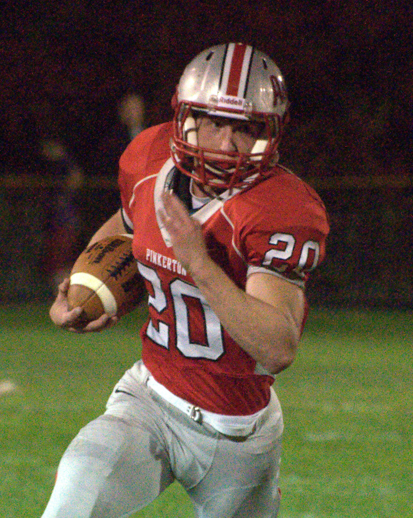 Pinkerton's T.J. Urbanik was named to the Division I South All-Conference team.