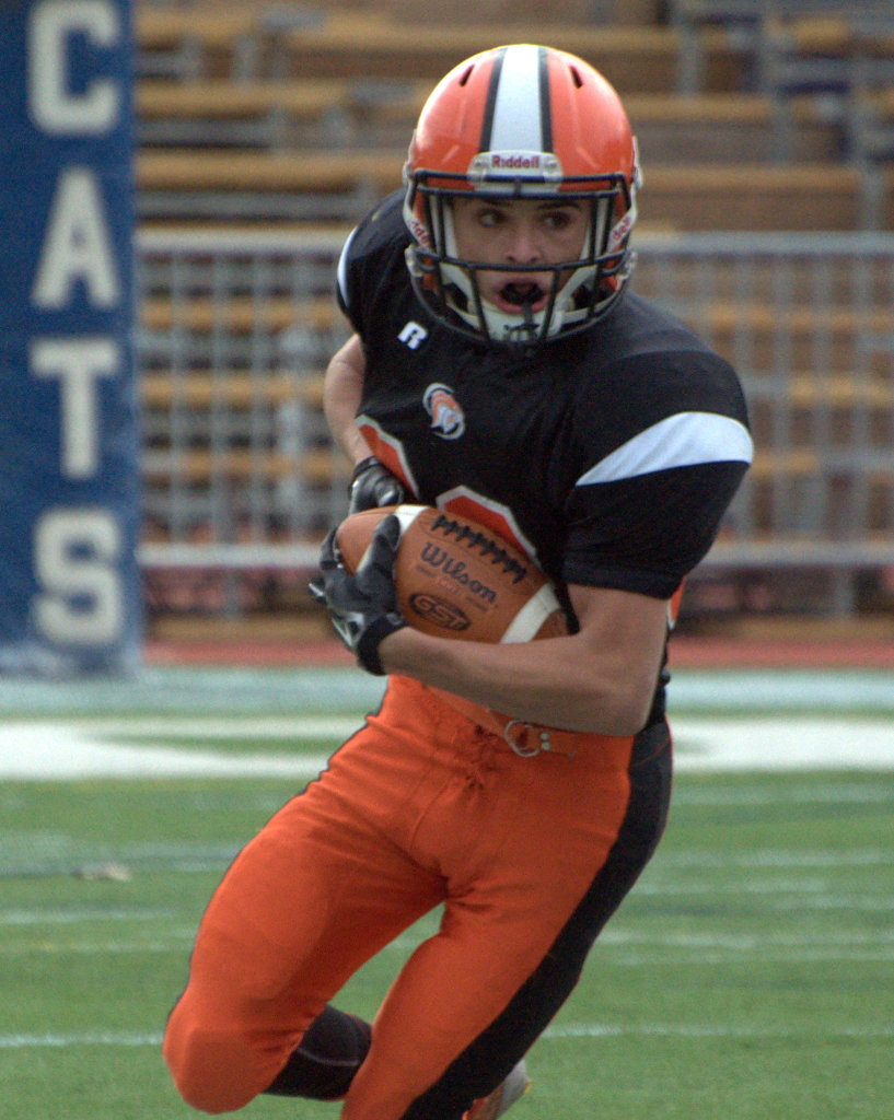 Newport's Noah Wade was named to the Division III North All-Conference team.