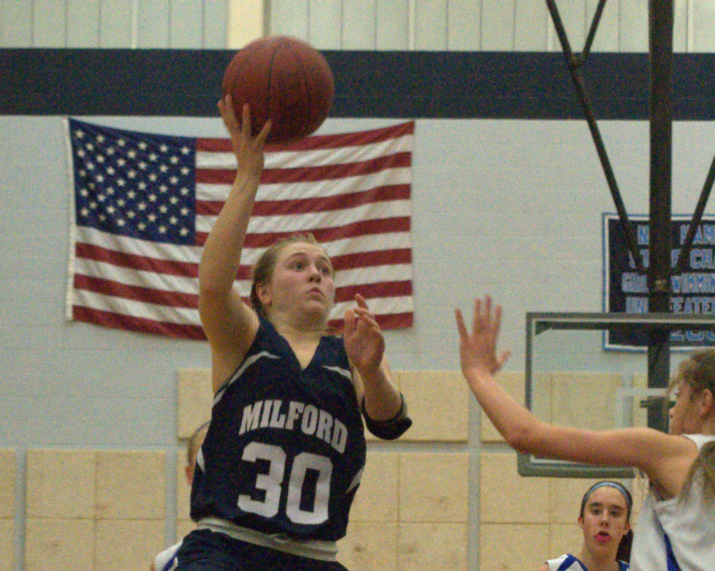 Erin McGuire and Milford are among the top five girls basketball teams in the state.