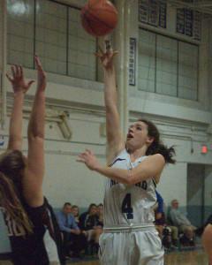 Milford girls basketball holds off Hanover