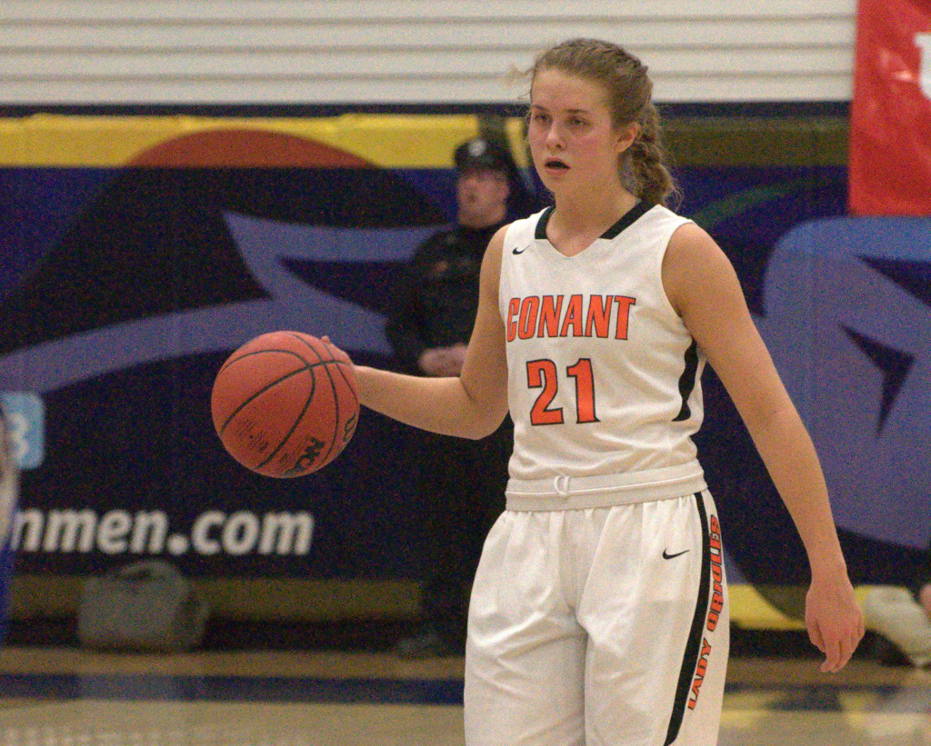 Conant's Madison Springfield is the 2015 Queen of New Hampshire High School Basketball.