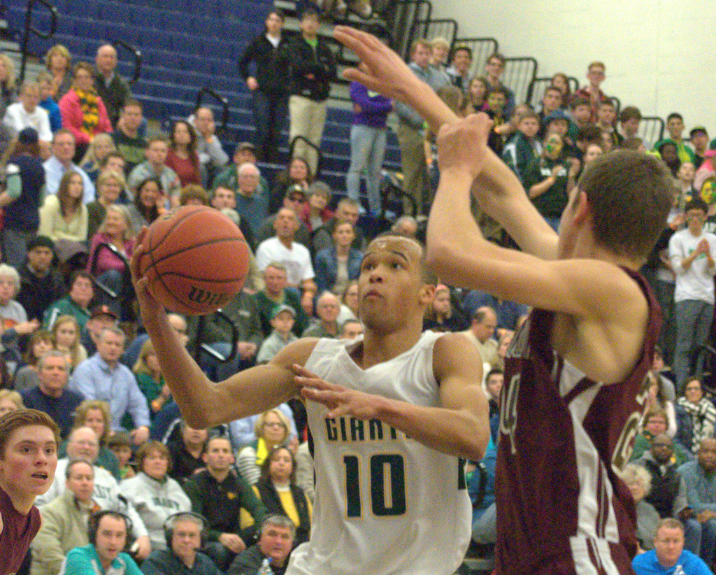 Bishop Brady's Jourdain Bell was named the Division II Player of the Year.