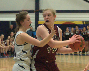Goffstown girls basketball rolls past Milford into D2 title game