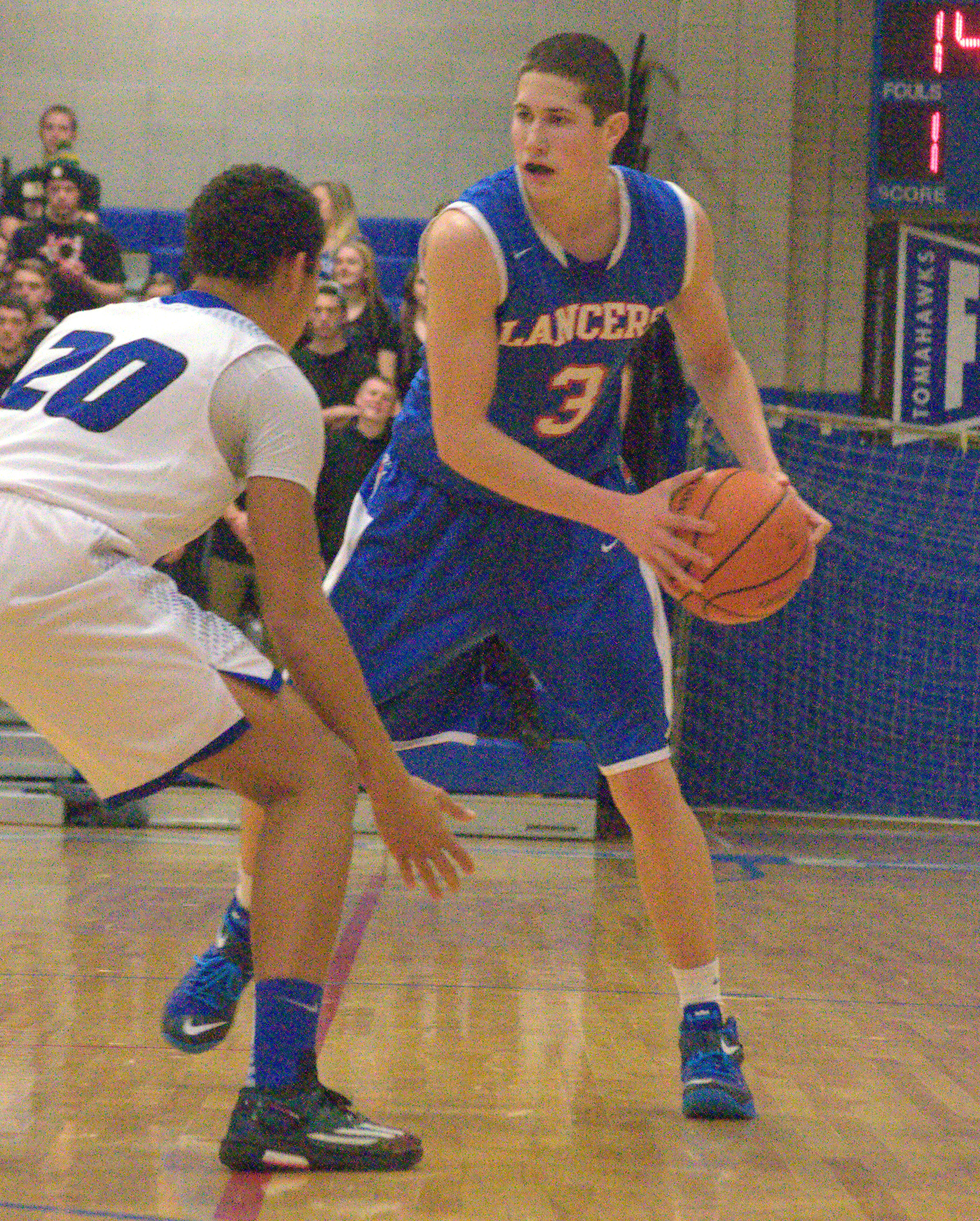 Londonderry's Cody Ball is the 2015 King of New Hampshire High School Basketball.