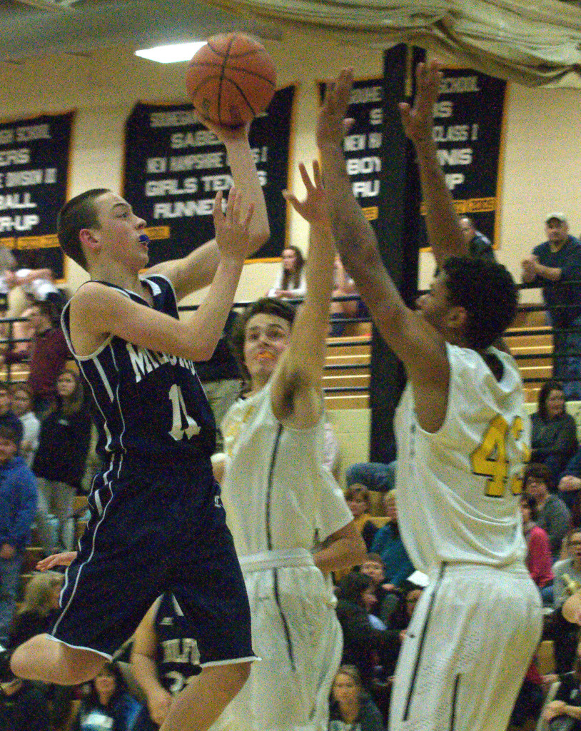 The Division II boys basketball tournament starts a week from Monday.