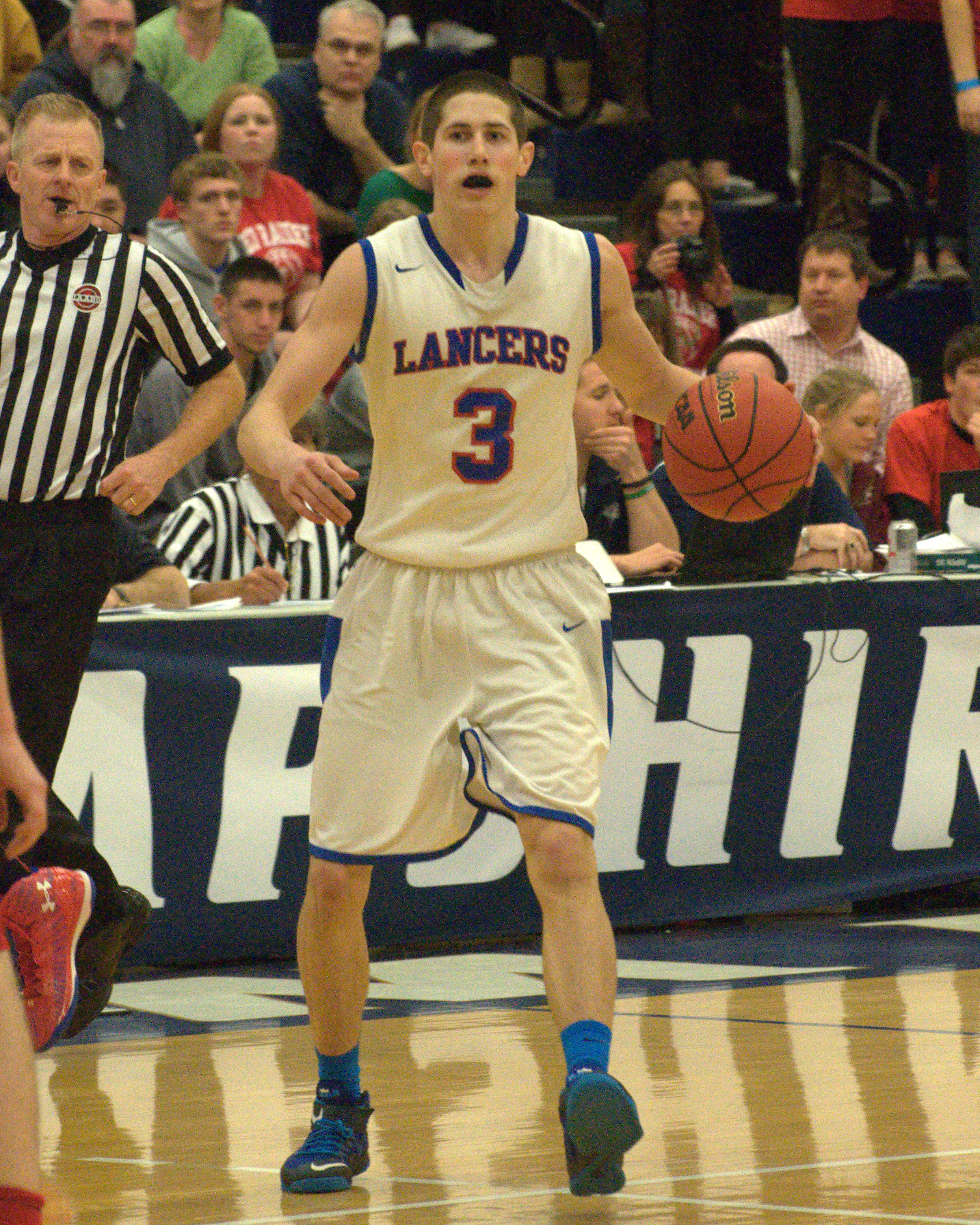 Londonderry's Cody Ball was named the Division I Player of the Year.