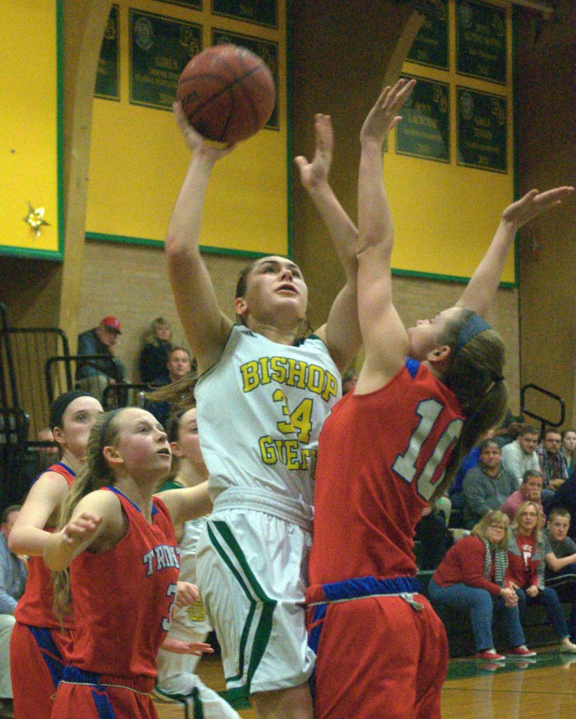 Meghan Cramb and Bishop Guertin host Pinkerton in the Division I quarterfinals.